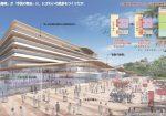 香川県丸亀市市庁舎等複合施設設計プロポーザルで松田平田設計や日本設計等を抑え佐藤総合計画が勝利。まち歩きによる調査、配置計画、賑わいの創出等を評価