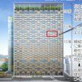 長崎市新庁舎設計プロポーザルで槇総合計画事務所等を抑え、山下設計・建友社設計・有馬建築設計共同企業体が勝利。外装に耐震木質パネルを使用。技術提案書公開