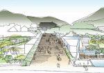 長野県信濃美術館整備事業設計プロポーザルでSANAAを抑えプランツアソシエイツが勝利。敷地高低差を生かした明確な導線計画を提案。両者の技術提案書公開