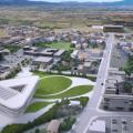 青森県平川市新本庁舎建設設計プロポーザルで古谷誠章/STUDIO NASCAを含む設計共同体が勝利。ユニークな意匠等を評価。技術提案書は9月中旬に公開予定
