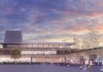 福岡県みやま市総合市民センター設計プロポーザルで日本設計が勝利。周辺環境との連携、配置、課題の「文化・芸術」「健康増進」「子育て支援」を十分に検討した点を評価