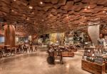 """スターバックスの高級業態""""ロースタリー""""が上海にオープン。約2800㎡の中に図書館、加工展示工場、小売店、イタリア有名ピザ店と融合したベーカリーなどを含む"""