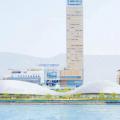 新香川県立体育館基本・実施設計プロポーザルでSANAAが勝利。3つのドームは鋼管による1辺4.5mの単層鉄骨グリッドで構成。坂茂や藤本壮介等の案も公開