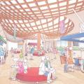 沖縄県島尻郡与那原町庁舎設計プロポーザルで梓・国吉設計共同企業体が勝利。地域特性を生かす赤瓦ルーバー、液体ガラスコーティングによる建物の長寿命化を評価
