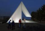 ひろしま建築学生チャレンジコンペ で景観を愉しむトイレ/白須颯樹・澤井遥香(安田女子大学)の提案が最優秀に。実現コンペとして、全国から57の応募があった