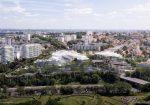 """フランス・パリ郊外の世界最大規模となる木造複合施設プロジェクト""""Ecotone""""。設計は藤本壮介と協同しているOXO Architectesを含むグループが担当"""