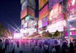 MVEDVによる台北のコンペで提案した複合施設のデザインを公開。ツインタワーのファサードはインタラクティブメディアで構成される。