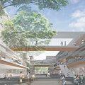 府中市新庁舎建設設計コンペ。千葉学・久米設計の最優秀案、隈・安井設計等の佳作案を公開