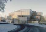 """スイス・ザンクトガレン大学の学習センターコンペで藤本壮介が勝利。""""オープングリッド-明日の選択""""と名付けられた格子構造建物は多様なレイアウトを可能にする"""