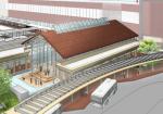 石川県加賀温泉駅都市施設設計プロポーザルで金沢計画研究所・ミナミデ建築設計事務所共同企業体が勝利。2023年の北陸新幹線敦賀延伸に向けて整備される