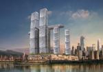 世界で最も高いところにスカイウォークをもつ中国・重慶の複合施設が今年完成を迎える。設計はシンガポールのマリーナベイ・サンズを手がけたSafdie Architects