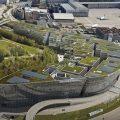 山本理顕によるザ・サークル チューリッヒ国際空港の特設サイト。webcamで建設状況を確認